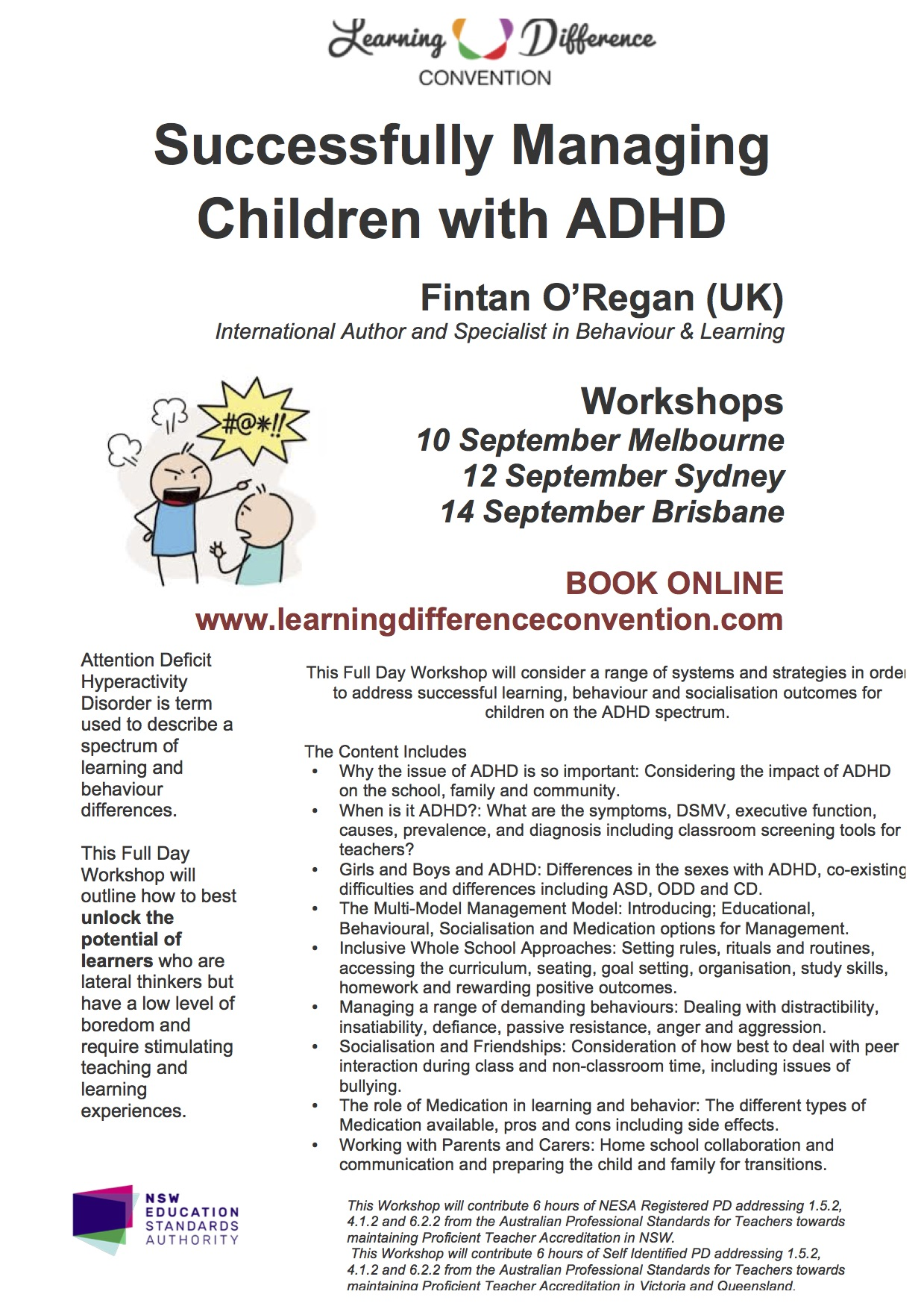 Successfully Managing Children With Adhd Learning Difference